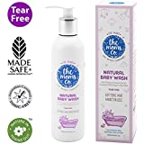 The Moms Co. Tear-Free Natural Baby Wash with Calendula, Avodado Oils and USDA-Certified Organic Oils Like Argan, Chamomile (200 ml)