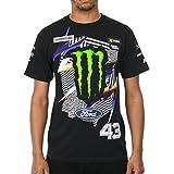 Camiseta Hoonigan Ken Block Monster Energy Official Negro