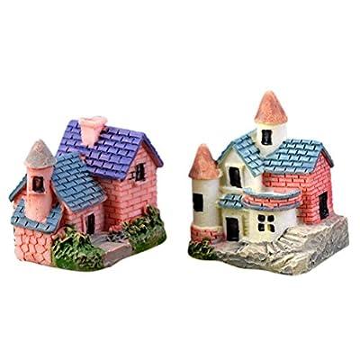 BESTIM INCUK Miniatur House Ornaments für Heimwerker Zubehör Puppenhaus Fairy Garden Home Dekoration von BESTIM INCUK bei Du und dein Garten