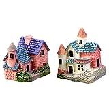 BESTIM INCUK Miniatur House Ornaments für Heimwerker Zubehör Puppenhaus Fairy Garden Home Dekoration Stil 6