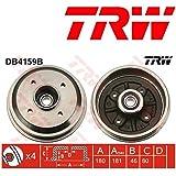 TRW DB4159B Tambour de Frein avec Roulements