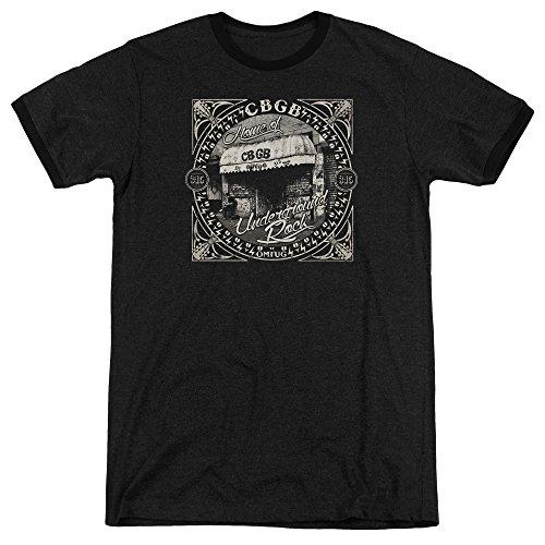 CBGB Herren T-Shirt Schwarz