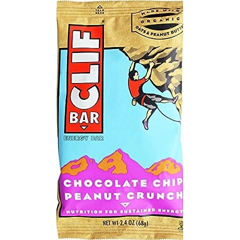 Cliff Bar Clif Bar, Og, Chc Ch Pntcr, 2.40-Ounce (confezione da 12)