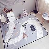 VClife® Teppich Kinderteppich Spielteppich Kinder Baby Krabbeldecke Polyester Yoga Training