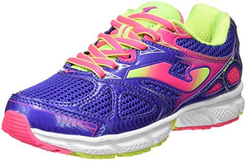 JOMA J.VITALY JR 605 AZUL-ROSA - Zapatillas para correr para niñas, color azul-rosa, talla 38
