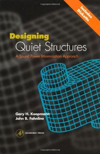 Designing Quiet Structures: A Sound Power Minimization Approach