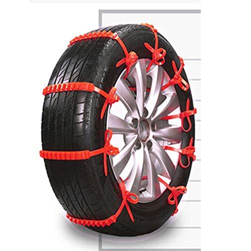 Y-Chain Anti-Skid Catene da Neve Catene di Emergenza Universale Anti-Slittamento dei Pneumatici E Cinghie di Cinghie di Trazione Filo per Auto/SUV