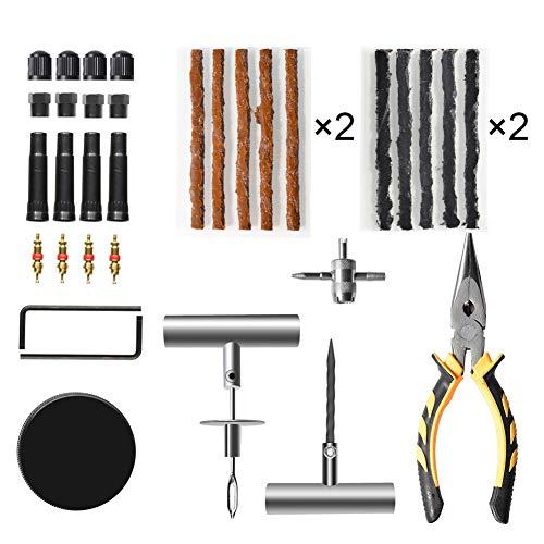 CNIKESIN-67Pcs-Kit-di-riparazione-di-gomme-Heavy-Duty-di-PC-per-motocicletta-ATV-jeep-camion-trattore-Flat-Tyre-Riparazione-riparazione