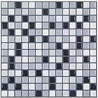 Sencillo Vida Adhesivos Para Azulejos Pegatina de Pared, Azulejos de Gel, Diseño Ladrillos Mosaic