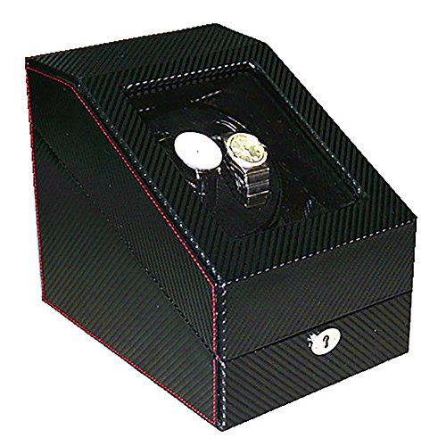 LWBAN-Packing Automatica di Legno Ruota Watch Winder, Motore Tabella di Sicurezza, Scatole Carica Orologi, 2+3 Posizioni, 22