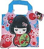 Chilino Manga Faltbare Mehrwegtasche/Umweltfreundlich/Hohe Tragkraft und Fassungsvermögen, 100% Polyester, 47 x 41 cm