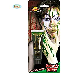 Tubo de Sangre verde 20 ml para Zombie