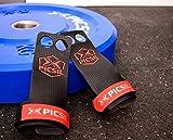 PicSil RX Grips - Calleras para Crossfit, gimnastas, Entrenamiento Funcional, Street Workout (Rojo, S)