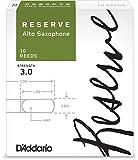 #8: D'Addario Reserve Alto Saxophone Reeds, Strength 3.0, 10-pack