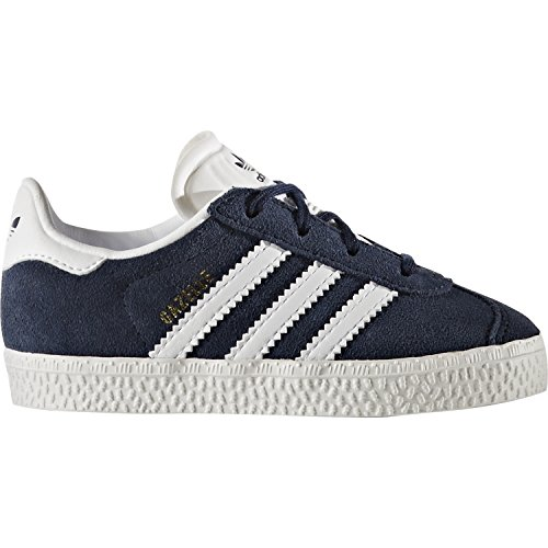 adidas Originals Gazelle I Collegiate Navy Suede Infant Trainers Collegiate Navy