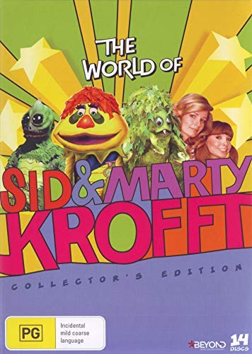 The World of Sid and Marty Krofft - Complete Series - 14-DVD Box Set ( H.R. Pufnstuf / Land of the Lost / Sigmund and the Sea Monsters / Electra Woman and Dyna [ Australische Import ] -