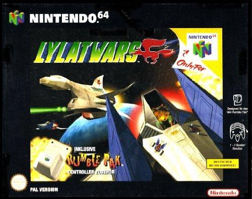 Lylat Wars, (inkl. Rumble Pak)