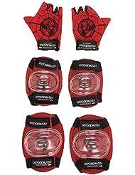 Spiderman - Set de 3 protecciones (Saica Toys 6192)