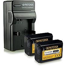 Novità - 4in1 Caricabatteria + 2x Batteria come NP-FW50 FW-50 con Infochip · 100% compatibile con Sony NEX 5 | 5A | 5D | 5H | 5K | 5N | 3 | 3A | 3D | 3K | 6 | 7 | C3 | F3 - Sony SLT-A33 alpha 33 | SLT-A35 alpha 35 | SLT-A37 alpha 37 | SLT-A55 alpha 55 | SLT-A55V alpha 55V