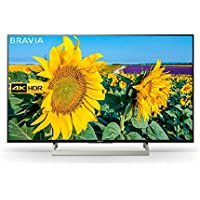 Sony Bravia KD55XF8096 55-Inch Android 4K HDR Ultra HD TV with Voice Remote/YouView and Freeview HD - Black (2018 Model)