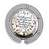 Unbekannt BAB Halskette mit Bibelvers, Aufschrift It is Well with My Soul Art, mit Fotoglas