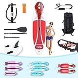 Die besten Paddle Boards für Anfänger - Miweba Sports Stand Up Paddle Board SUP Ariki Bewertungen