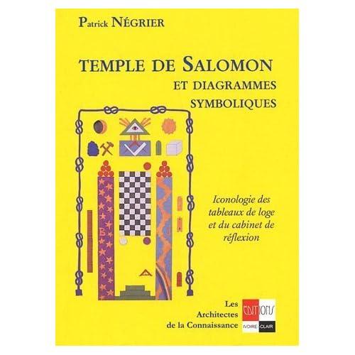 Temple de Salomon et diagrammes symboliques : Iconologie des tableaux de loge et du cabinet de réflexion