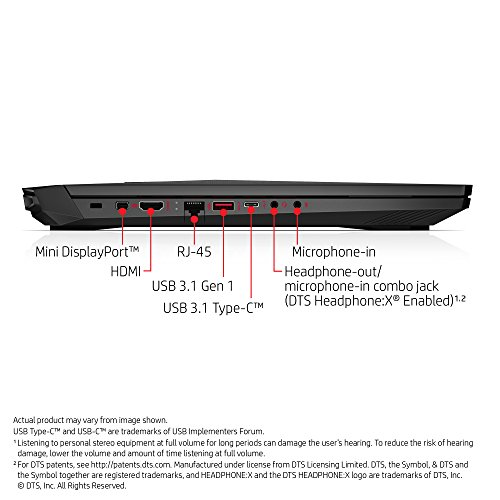 HP Omen 15-CE074TX Laptop (Windows 10, 28GB RAM, 1000GB HDD) Shadow Black Price in India