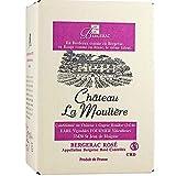 Bag-in-Box Roséwein trocken Château La Moulière 2017 A.O.C. Bergerac vom Winzer Fournier (1 x 5,0l)