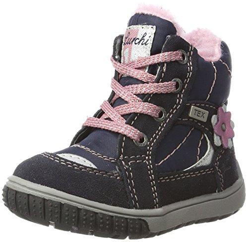 Lurchi Baby Mädchen Jona-Tex Klassische Stiefel, Blau (Navy), 25 EU