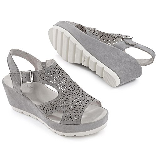 Gabor femmes sandale 45.742.19 pierre grau