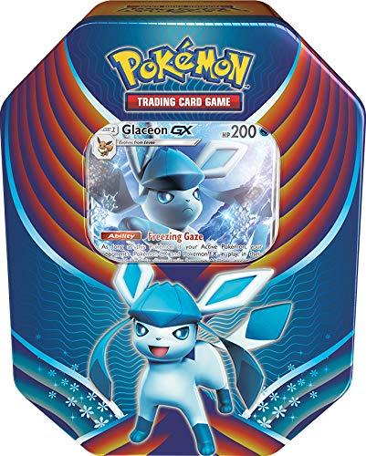 Pokémon POK80409–9TCG: Evolution celebrazione metallo (Leafeon, Glaceon & Sylveon, One at random)