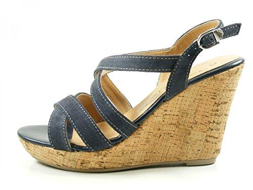 Tamaris 1-28343-28 femmes Sandale Blau