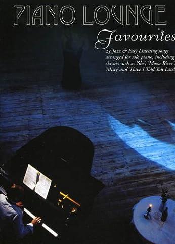 Piano Lounge Favourites for Solo Piano