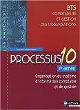 Processus 10 - Organisation du système d'information comptable et de gestion - BTS CGO 1re année