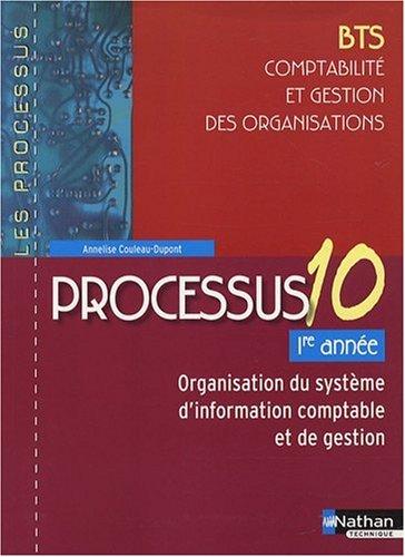 Processus 10 - Organisation du système ...