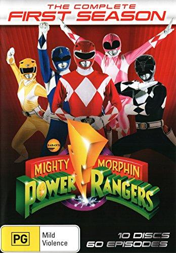 Mighty Morphin Power Rangers: Season 1 [NON-USA Format / PAL / Region 4 Import - Australia]
