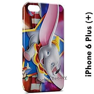 Coque Etui iPhone 6 plus (+) Dumbo étui Housse Case Cover Protection