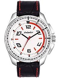 Armbandsur Analog White Dial Watch-ABS0033MBW