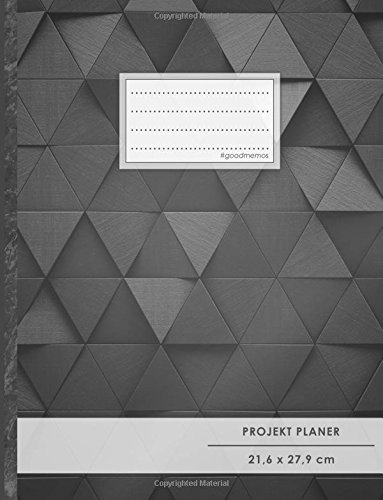 PROJEKTPLANER A4 • 70+ Seiten, Softcover, Register,