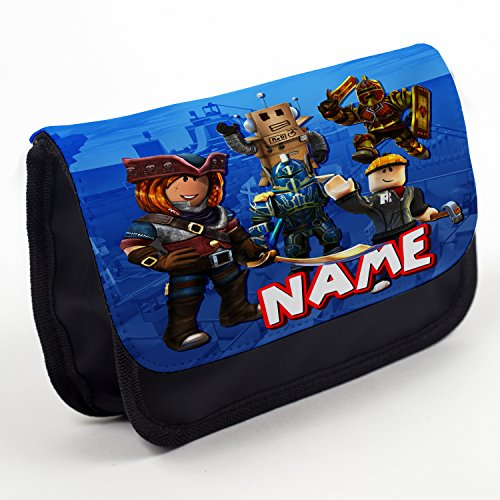Personalised Pencil Case Roblox Stationary Bag Back To School Gift