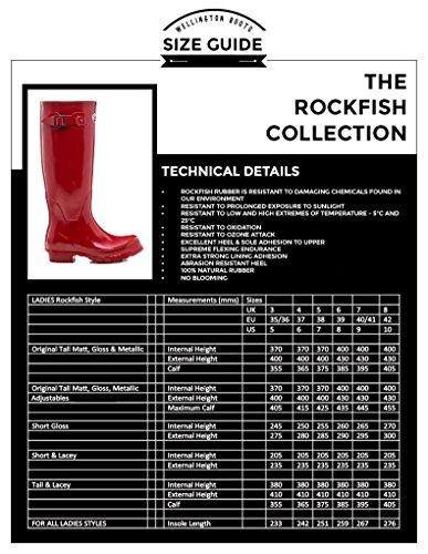 Rockfish opaco originale alto standard o larghezza polpaccio stivali Cavallo Urine resistente stabile/Yard Stivali tutte le misure Black