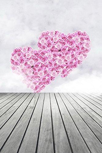 amonamour-rose-coeur-amour-valentine-mur-ciel-plancher-mariage-bois-vinyle-studio-5x7ft-photographie
