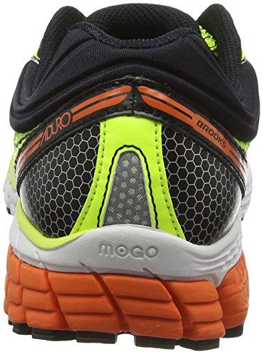 Brooks Aduro 4, Chaussures de Running Compétition Homme Jaune (Gelb/Orange)
