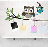 Cartoon Hand Gezeichnete Eule Wandaufkleber Für Kinder Baby Kinderzimmer Hintergrund Dekoration Wandbild Kunst Aufkleber Kinderzimmer Aufkleber