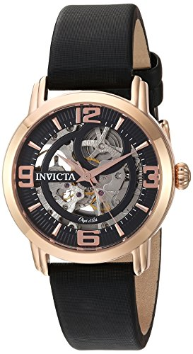 Invicta Women's Analog Automatic-self-Wind Watch with Satin Strap 22656