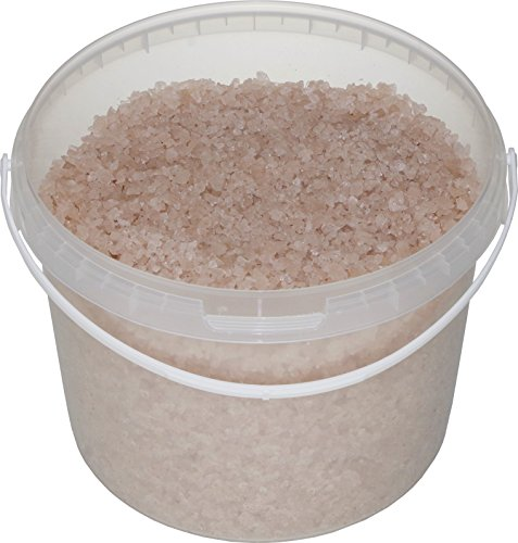 SIVASH rosa Meer-Badesalz, unraffiniert, naturbelassen, 5 kg, für 10 Bäder, kleiner Kristall (Zustand Beta-carotin)