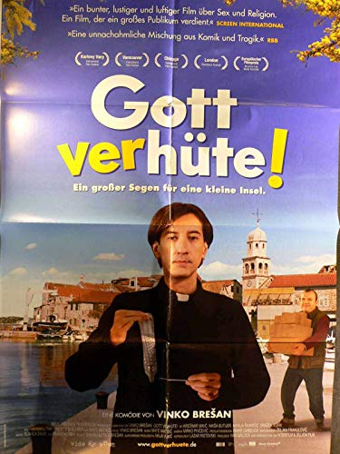 Gott verhüte! - Vinko Bresan - Kresimir Mikic - Filmposter A1 84x60cm gefaltet