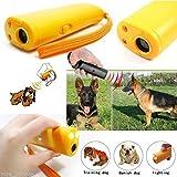 Best Dog Bark Control - Generic 2 PCS Ultrasonic Dog repeller Training Device Review