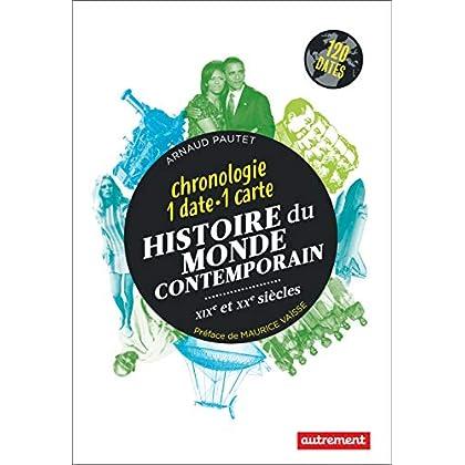 Histoire du monde contemporain : Chronologie 1 date 1 carte